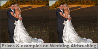 Photo Airbrushing for Weddings